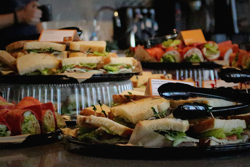 Office Casual Catering - sandwich platters