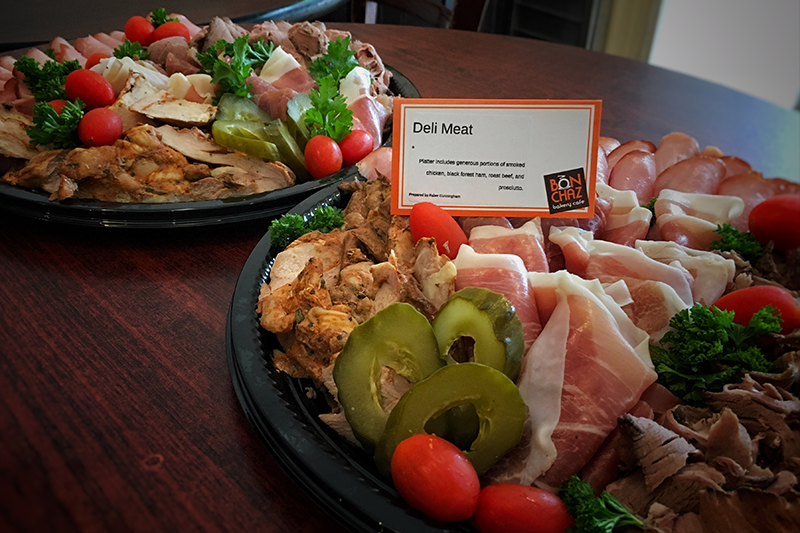 Office Casual Catering - deli meat platter