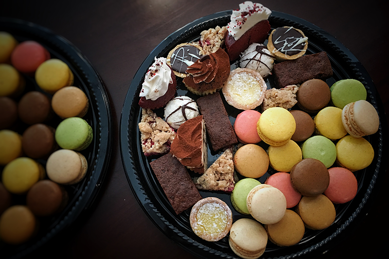 Office Casual Catering - macarons and desserts